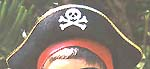 Child-Size Pirate Captain's Hat