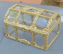 Reilly's Treasured Gold - Clear treasure chest