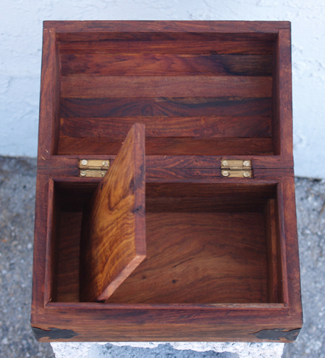 Woodwork How To Build A Small Wooden Treasure Chest PDF Plans
