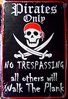 Buy Pirate Signs
