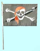 Red Bandanna Pirate Flag