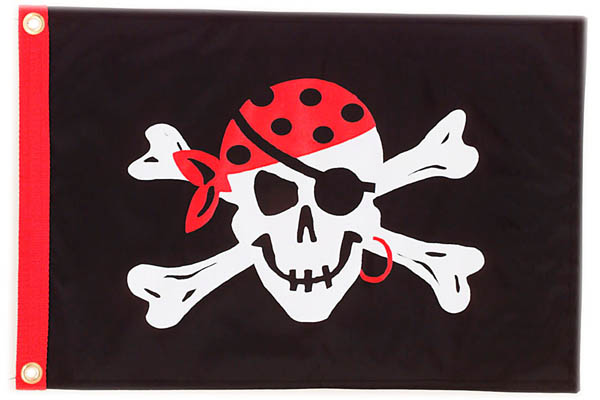 Pirate Flag Reilly's Treasured Gol...