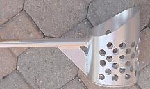 RTG Pro Aluminum Scoops - RTG Straight Handle Aluminum Water Scoop