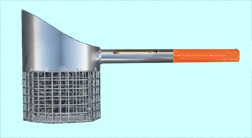 "RTG 17"" STAINLESS STEEL SAND SCOOP"